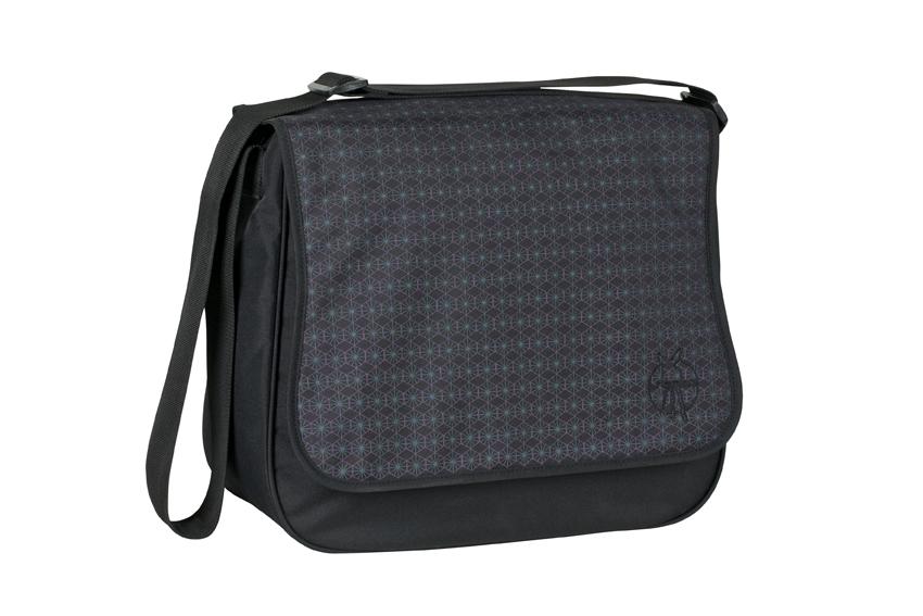 Wickeltasche Basic Messenger Bag schwarz
