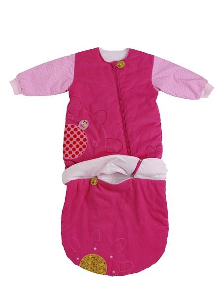 Schlafsack Marienkäfer Liz pink (Gr. 9-48 Monate)