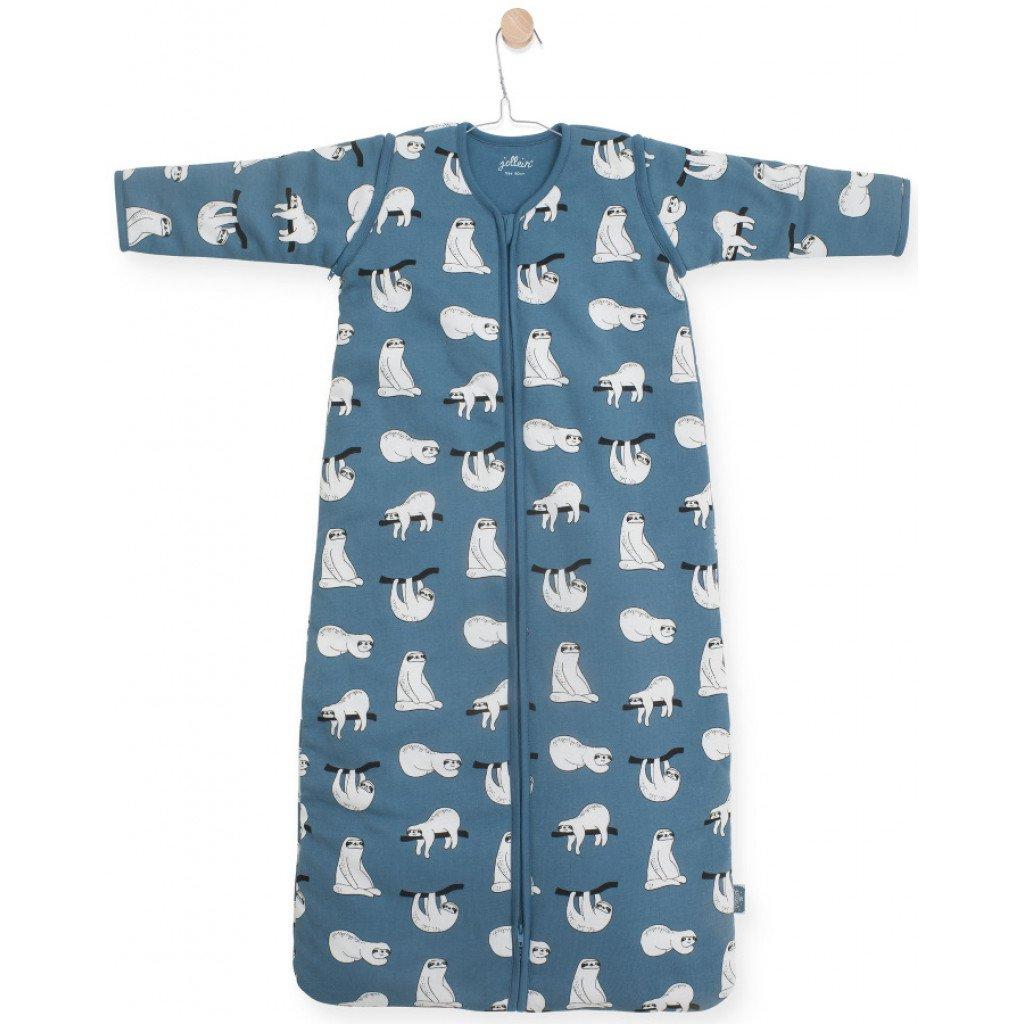 Schlafsack 4 Jahreszeiten Faultiere blau (Gr. 110 cm)