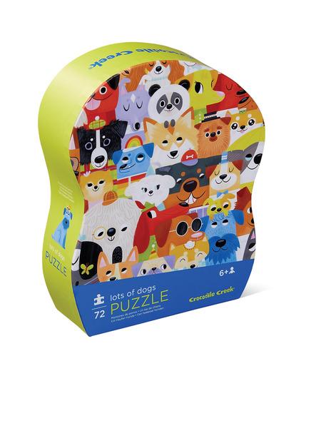 Puzzle Viele viele Hunde 72 Teile