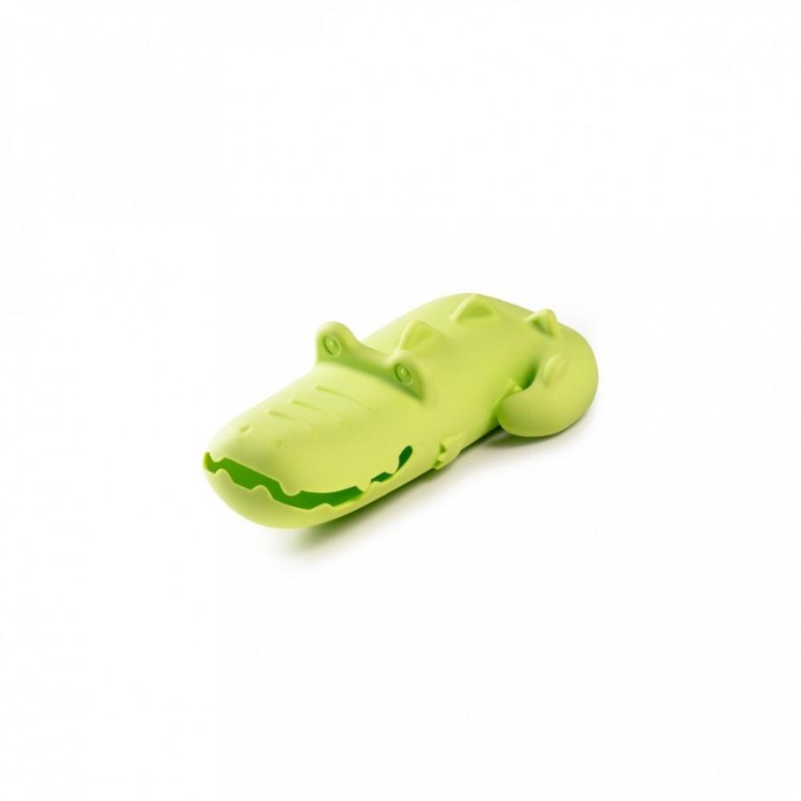 Badespielzeug Schwimmtier Krokodil Anatole