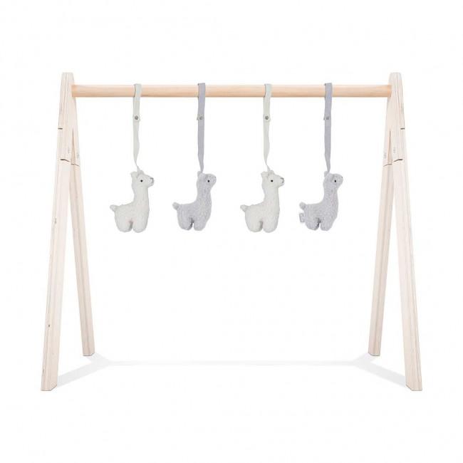 Jollein Anhänger für Spielbogen Baby Gym Lamas
