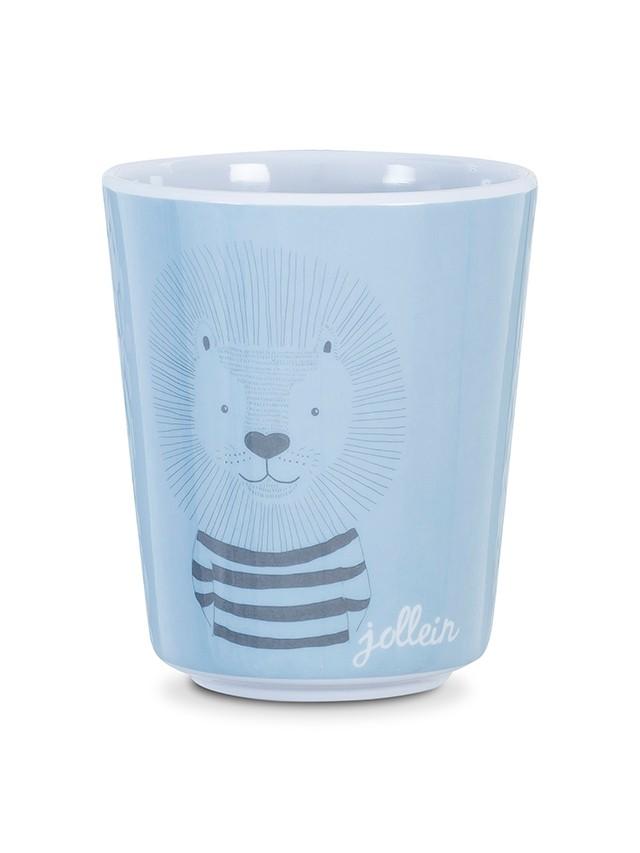 Melamin Tasse Becher Wild Animals blau