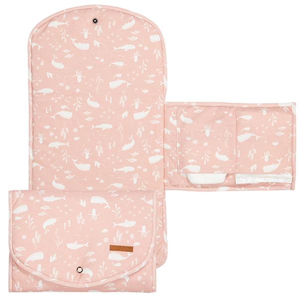 Wickelunterlage Ocean rosa