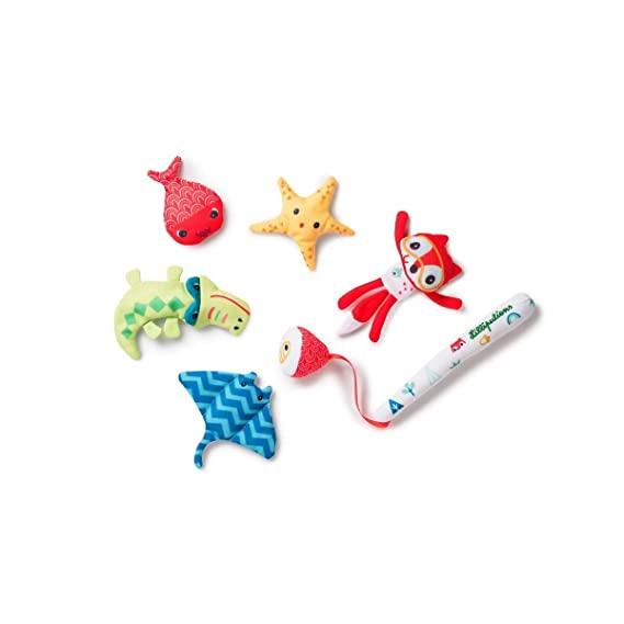 Badewannenspielzeug Angelspiel 6-teilig