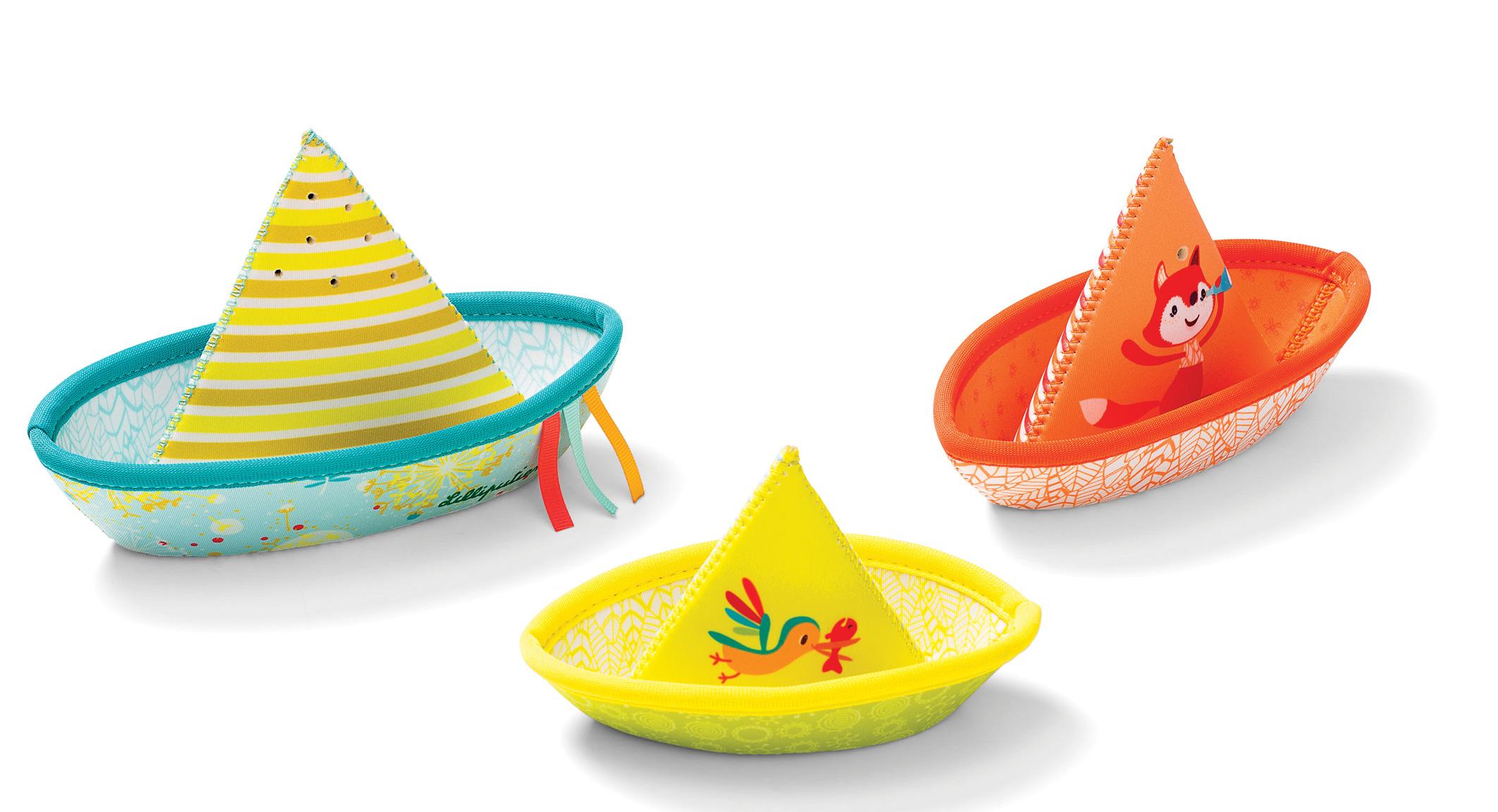 Badespaß 3 kleine Boote