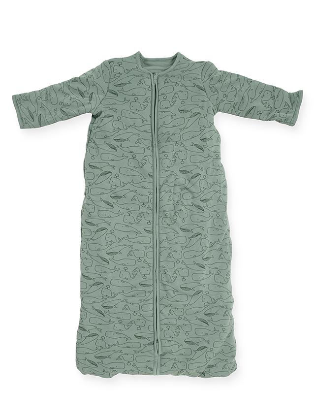 Schlafsack 4 Jahreszeiten Walfische stonegreen (Gr. 90 cm)