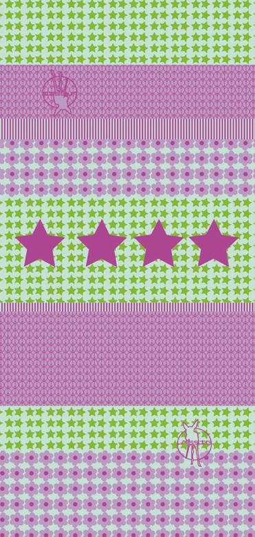 Lässig - Twister Kids - Starlight magenta