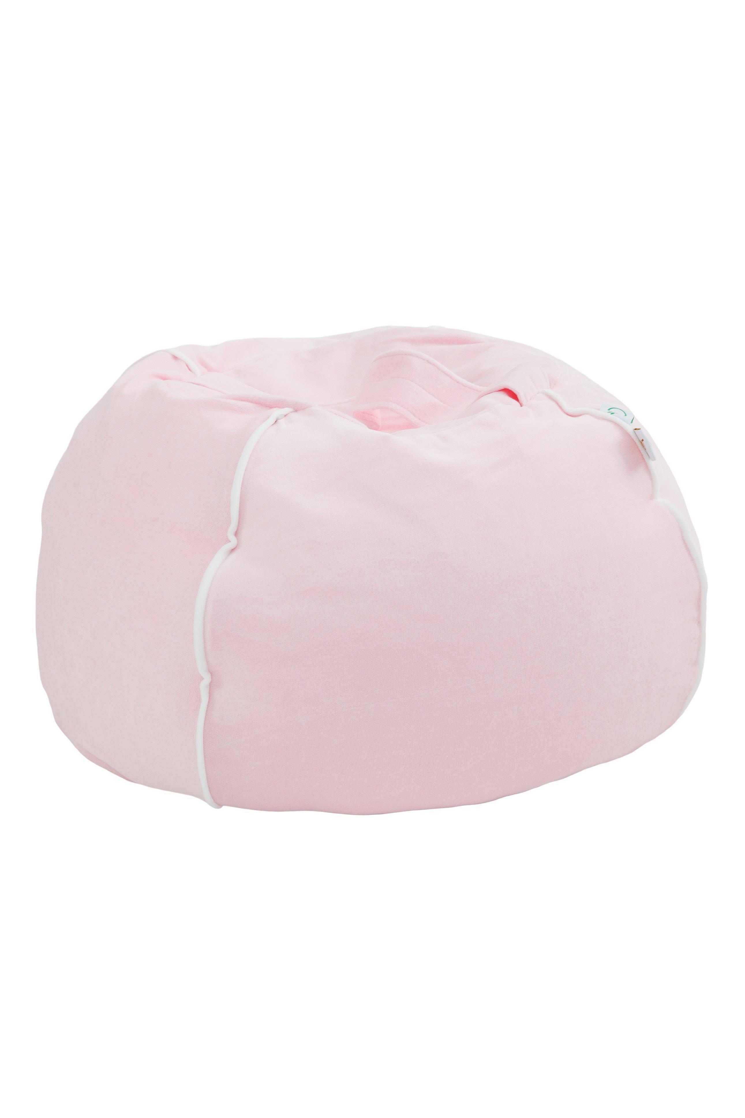 Samt Sitzsack Bubble rosa 70x35 cm