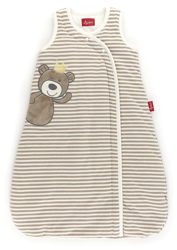 Schlafsack beige taupe Teddyprinz