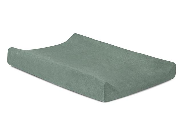 Wickelauflagenbezug Frottee stonegreen (Gr. 50x70 cm)