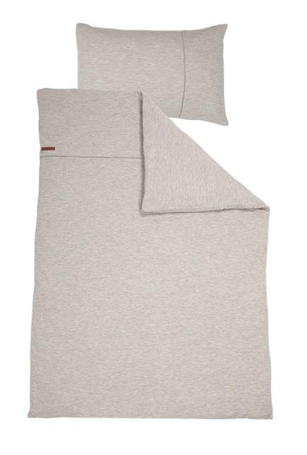 Bettwäsche Pure grau 135x200cm + 80x80cm