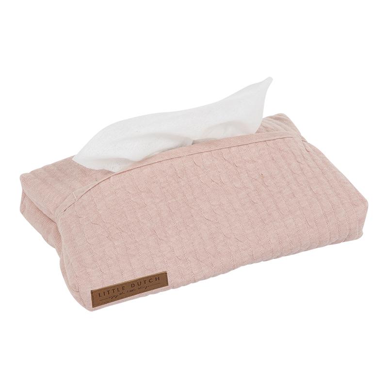 Feuchttücherbezug Pure rosa