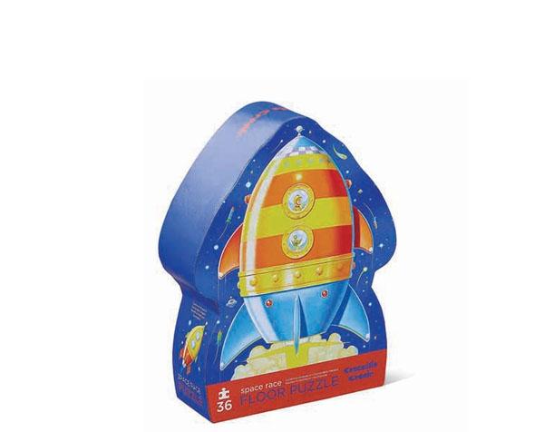 Puzzle Weltraum Rakete 36 Teile