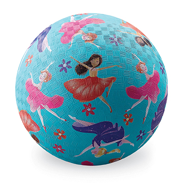 Naturkautschuk Ball Lass und tanzen hellblau Ø 13 cm