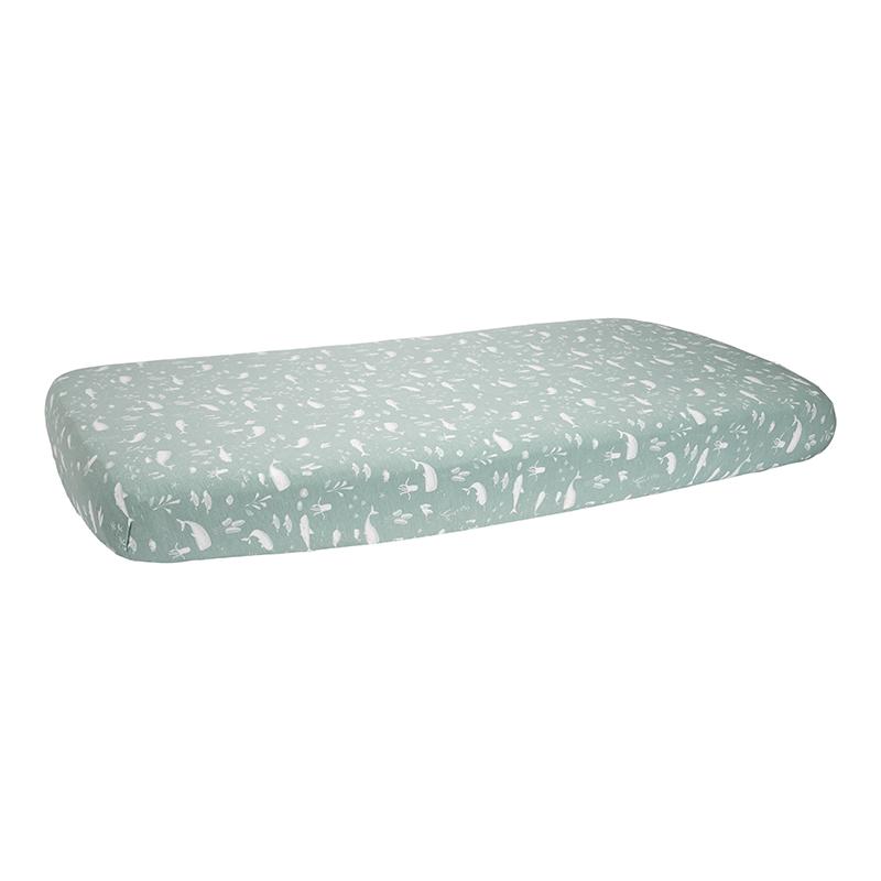 Spannbetttuch für Kinderbett Ocean mint (Gr. 70x140 cm)
