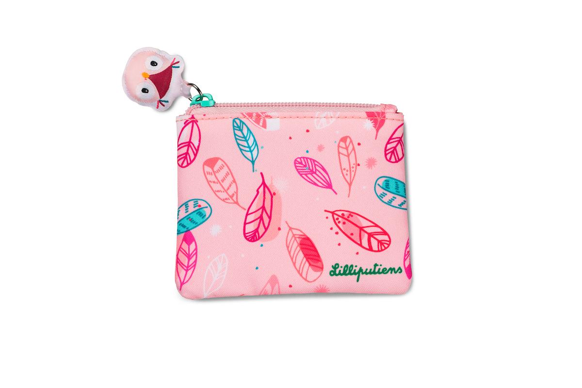 Geldbeutel Geldbörse für Kinder Einhorn Louise rosa pink