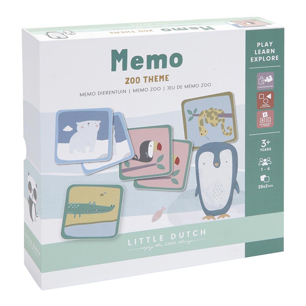 Memory Spiel Zoo 40-Teile