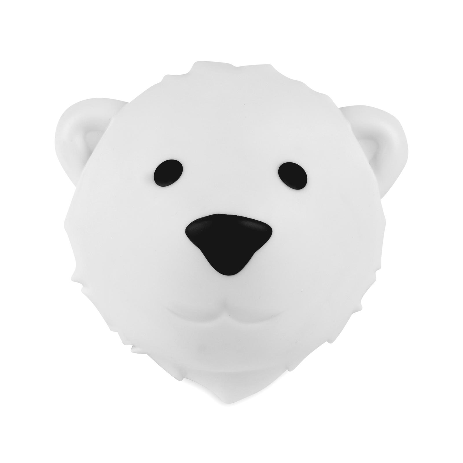 LED Wandlampe Nachtlicht Eisbär Björn 17 cm
