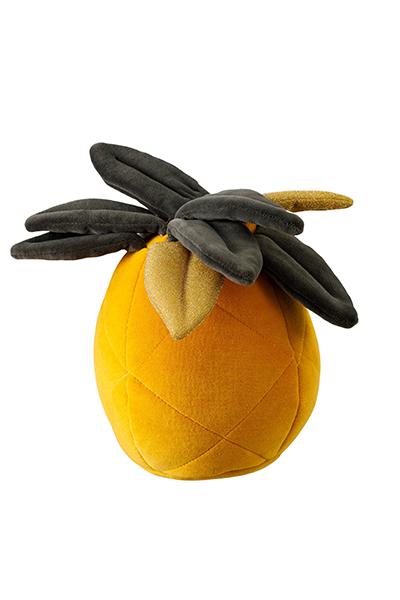 Wigiwama Samt Spielkissen Ananas 30 cm