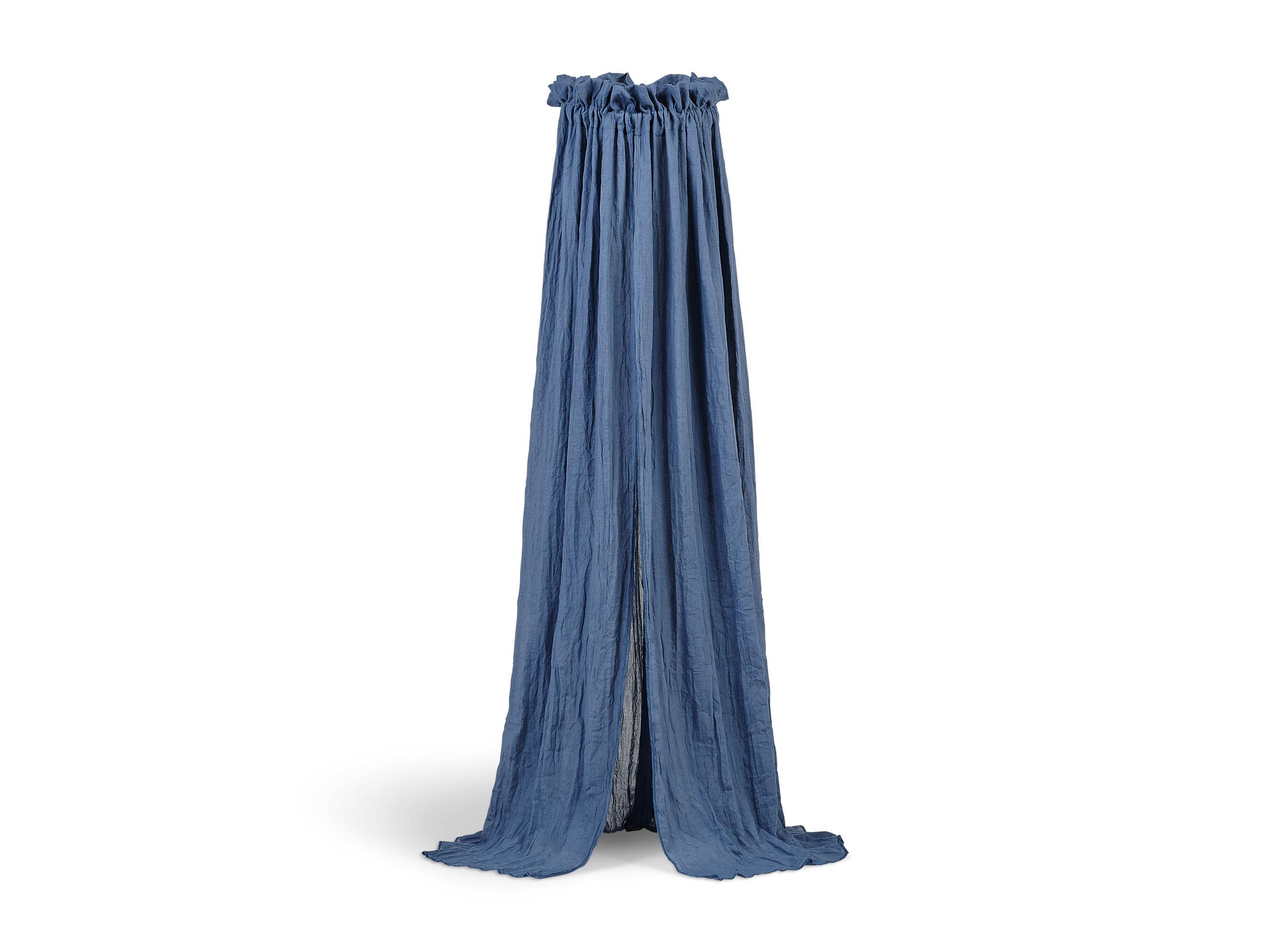 Betthimmel Vintage blau (155 cm)