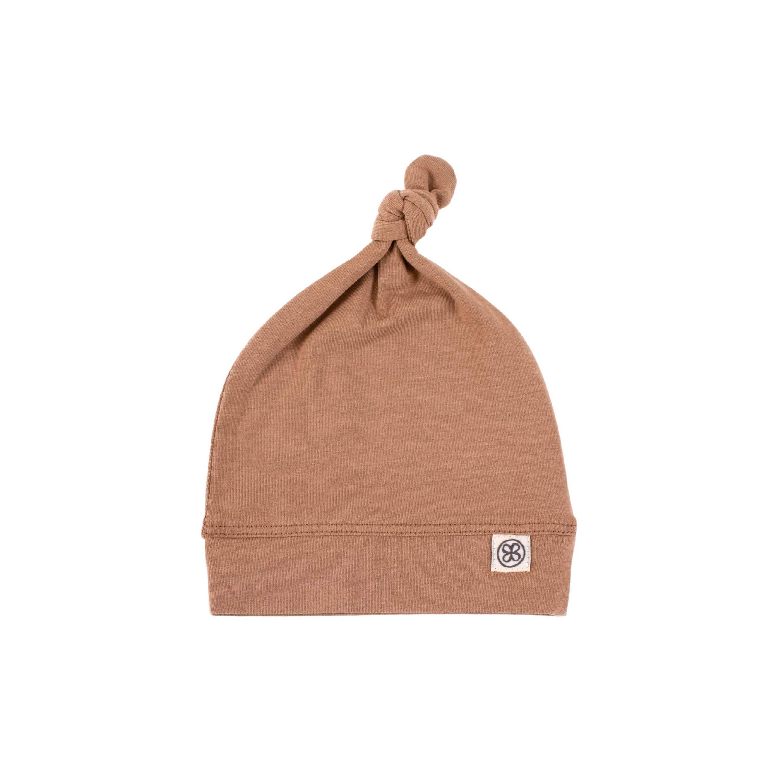 Mütze mit UV-Schutz (UPF 50+) braun (Gr. 50-56)