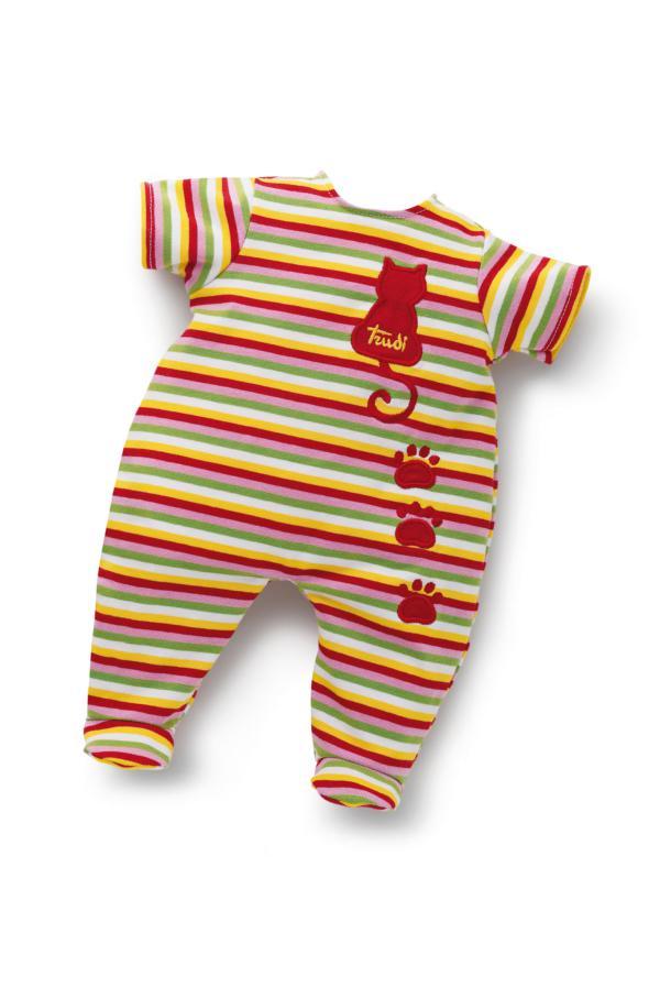 Puppenkleidung Baby Anzug Katze 36 cm