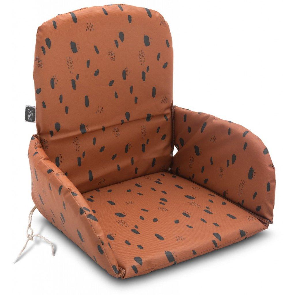 Sitzverkleinerer Spot Tupfen karamellbraun