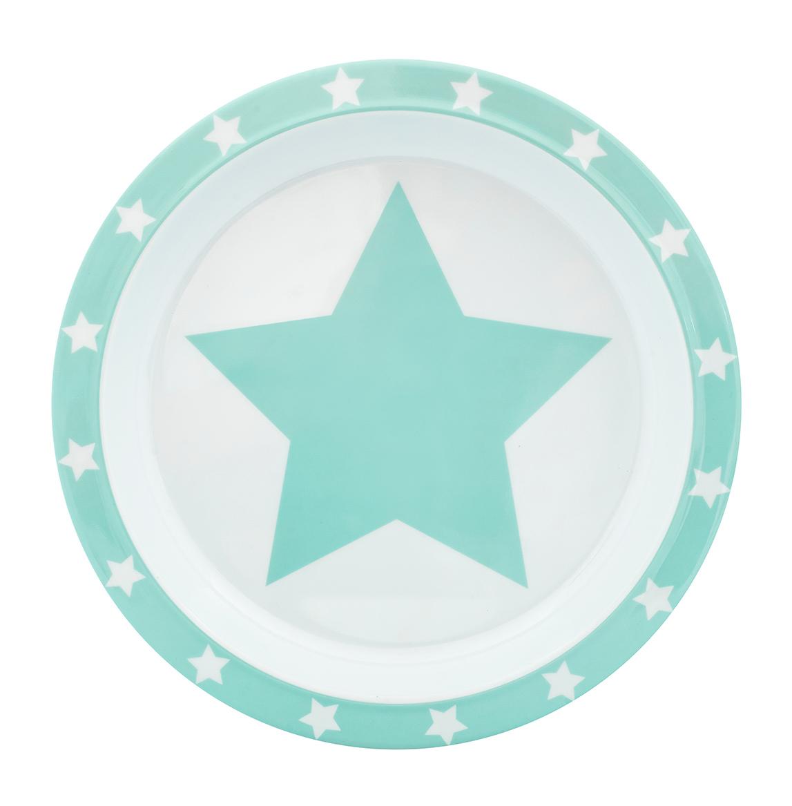 Teller Melamin STARS mint
