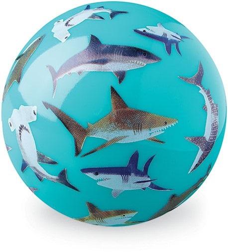 Ball Haifische hellblau Ø 10 cm