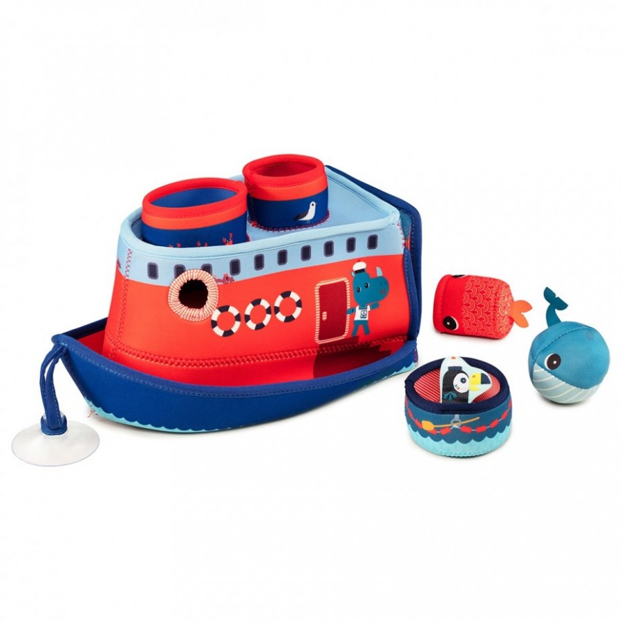 Badespielzeug Schiff Nashorn Marius