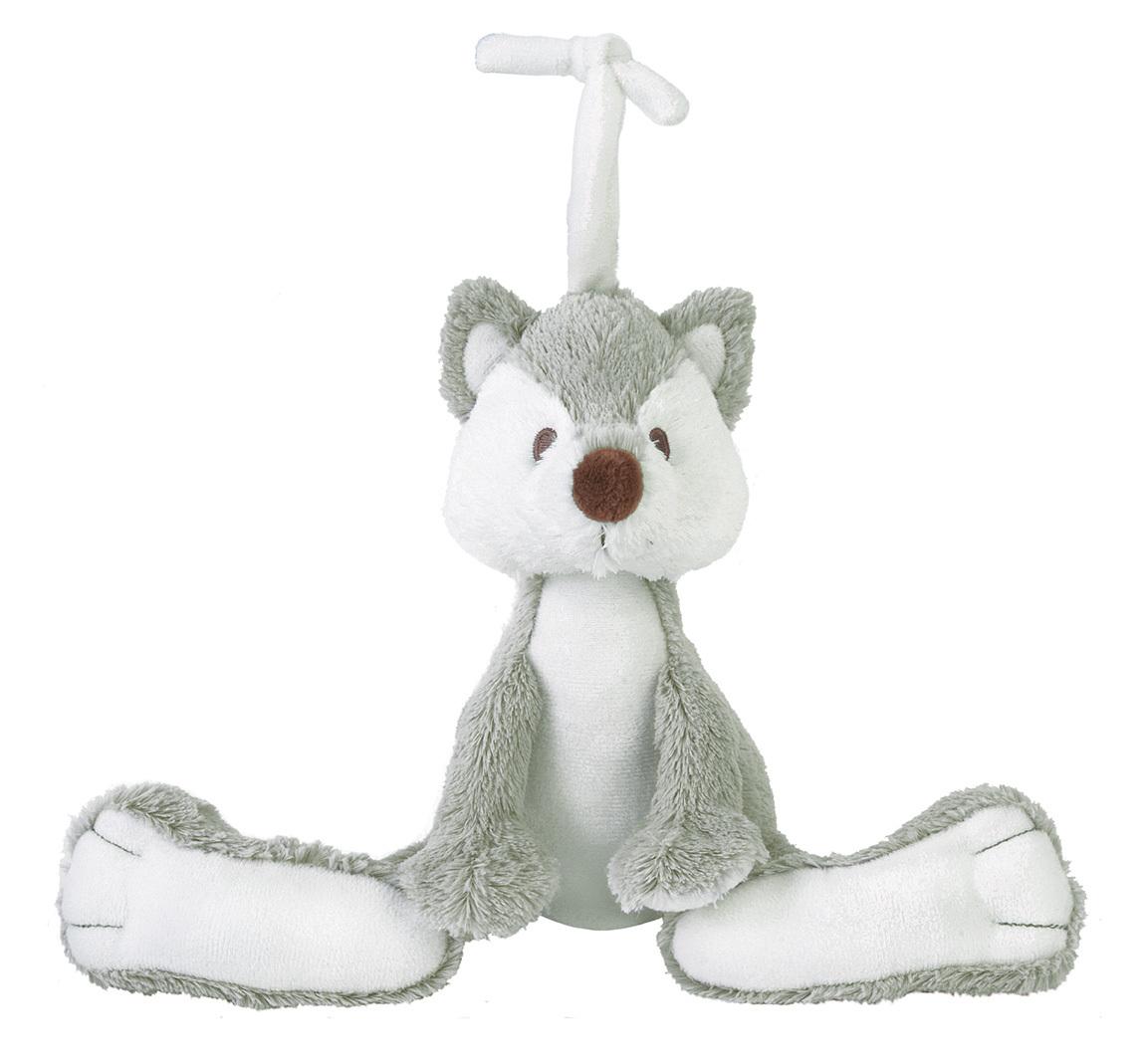Spieluhr Fuchs grau