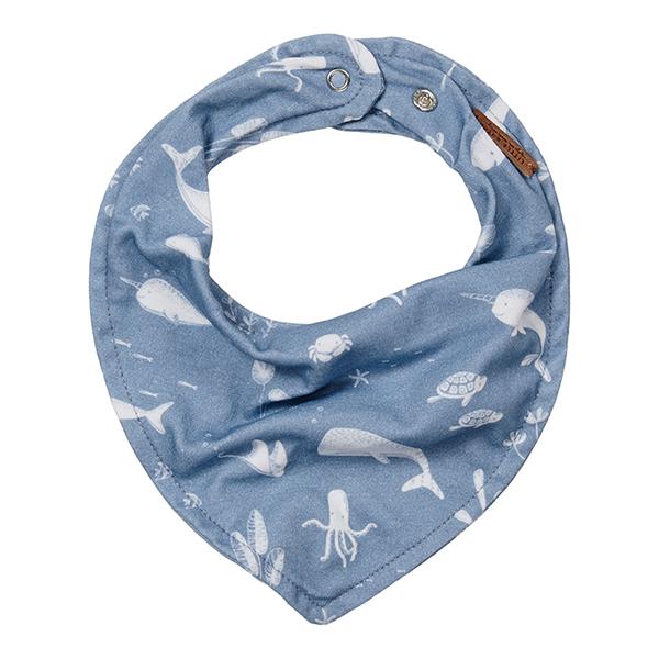 Bandana Lätzchen Halstuch Ocean blau
