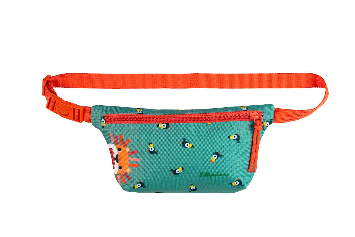 Gürteltasche Hüfttasche Löwe Jack türkis orange