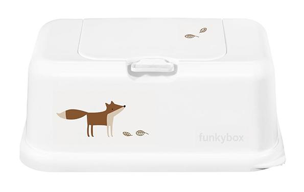 Feuchttücher Aufbewahrungsbox Fuchs weiß