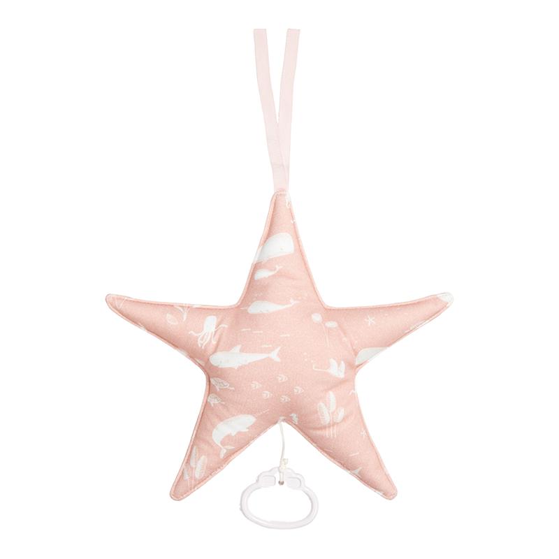 Spieluhr Stern Ocean rosa