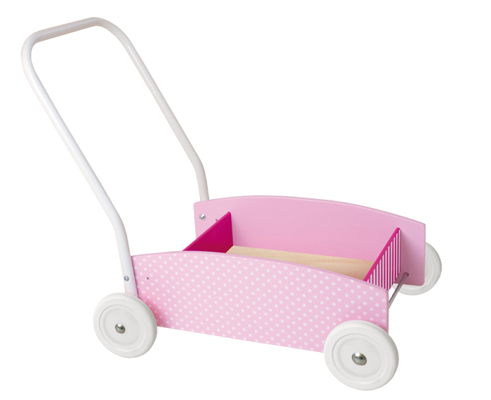 Lauflernwagen rosa