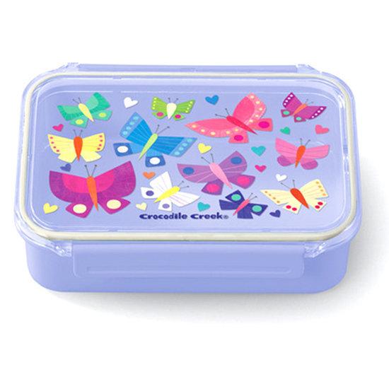 Lunchbox Bento Box Schmetterlinge lila
