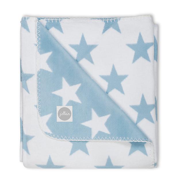 Jollein Babydecke Sterne blau 75x100 cm AV!!!