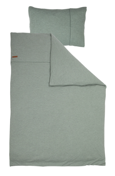 Bettwäsche Pure mint 135x200cm + 80x80cm