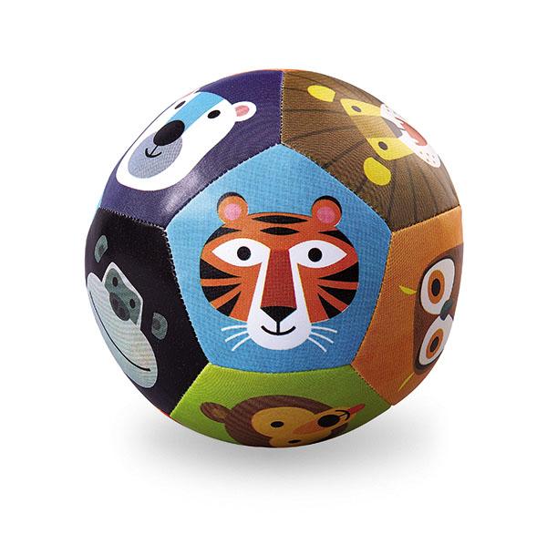 Ball Tiere bunt Ø 13 cm