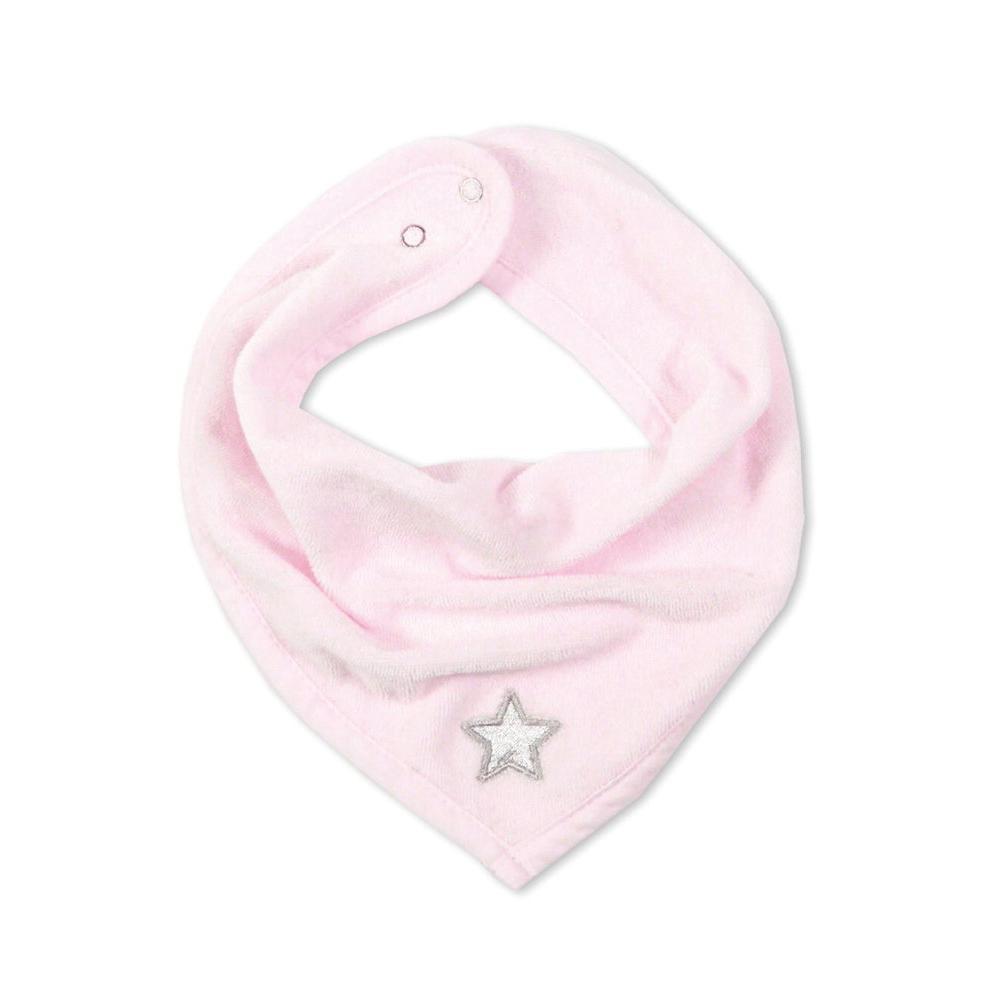 Bandana-Lätzchen Stary rosa Stern