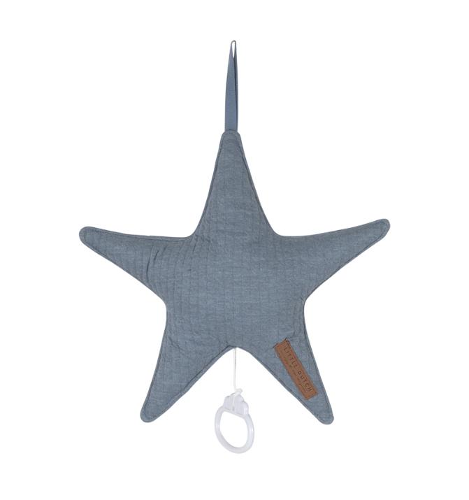 Spieluhr Stern Pure blau