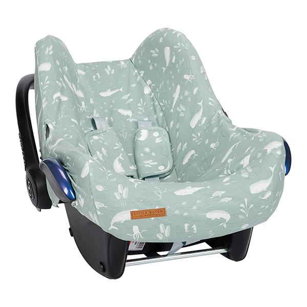 Bezug für Babyschale Ocean mint