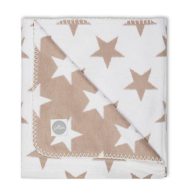 Babydecke Sterne sandbeige 75x100 cm AV!!!