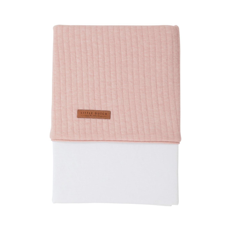 Babybettlaken Wiegenlaken Pure rosa (Gr. 70x100 cm)