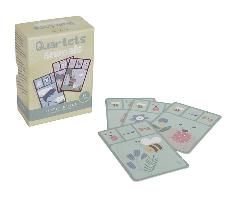Kartenspiel Quartett Tiere