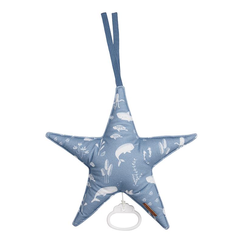 Spieluhr Stern Ocean blau