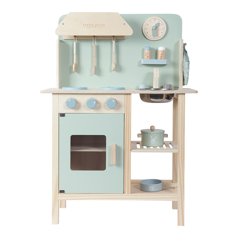 Holz Kinderküche mint inkl. Zubehör