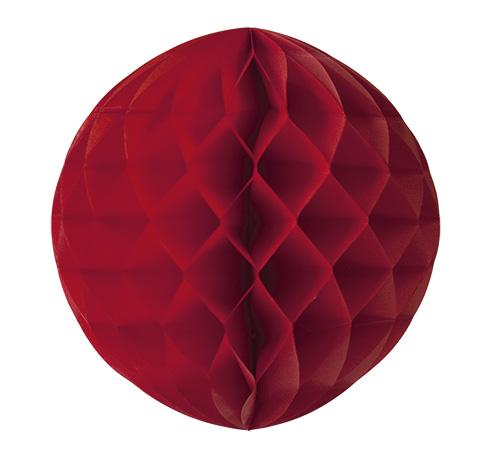 Wabenbälle Pompoms rosa rot lila 4er Set